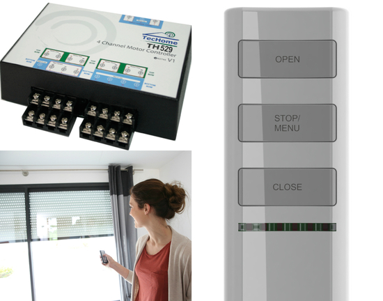 IndustryTec Control Suite: TecHome controlling manufacturing projects around Australia