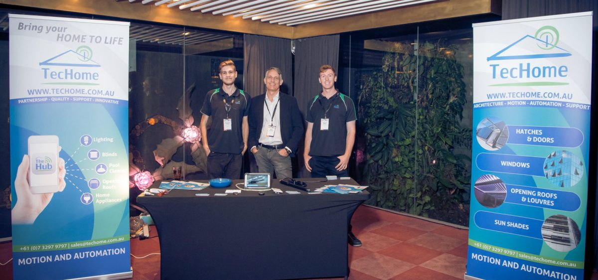TecHome Visits Brisbane EMERGE 2018