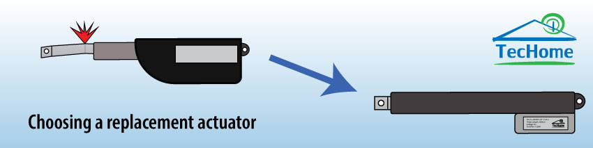 How to Choose a Replacement Actuator